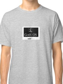 Goth OS (System 7) Classic T-Shirt