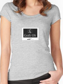 Goth OS (System 7) Women's Fitted Scoop T-Shirt