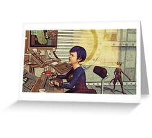 Space Cadet Greeting Card
