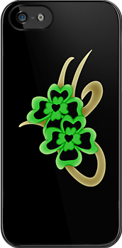Irish iPhone case by patjila