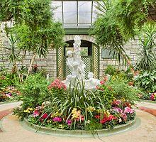 Niagara Falls Winter Garden by Marilyn Cornwell
