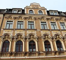 Facade of Residential Building by karina5