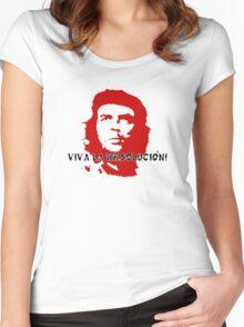 VIVA LA RESOLUCION! Women's Fitted Scoop T-Shirt