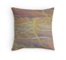 TEXTURES & FABRIC DESIGNS 10 personal wellbeing  Throw Pillow