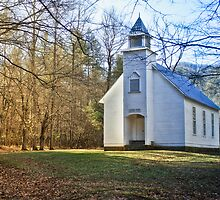 Palmer Chapel by Phillip M. Burrow