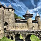 The Chateau de Comtal, Carcassonne by jacqi