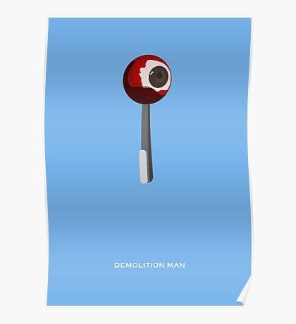 Demolition Man - Minimal Poster Poster