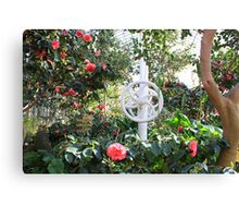 In the Palmhouse V Canvas Print