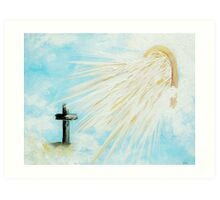 It's Impossible to Outgive God Art Print