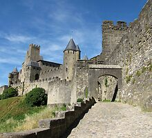 The Castle Ramparts Carcassonne 2 by jacqi