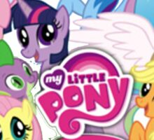My Little Pony Mane6 and Logo Sticker