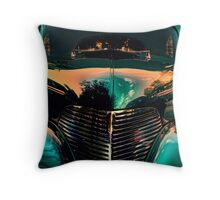 """ Resolution to Blue "" Throw Pillow"