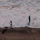 Bird and Surf - Pajaro y Oleaje by PtoVallartaMex