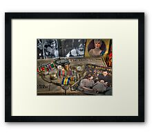 Time and Trinkets Framed Print