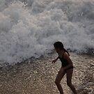 Young Girl in the Surf - Jovencita en el Oleaje by PtoVallartaMex