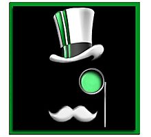TheBusinessGaming Logo - Green Photographic Print