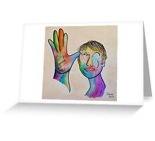 American Sign Language FATHER Greeting Card