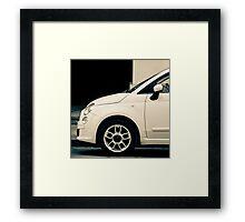 New Fiat 500 Framed Print