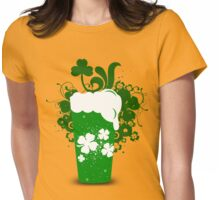 Lucky Beer Womens Fitted T-Shirt