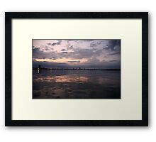 Milwaukee Horizon Cityscape  Framed Print