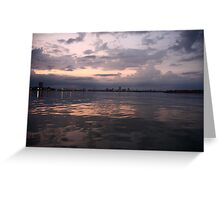 Milwaukee Horizon Cityscape  Greeting Card