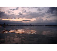Milwaukee Horizon Cityscape  Photographic Print