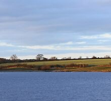 Panoramic of Sywell Country Park in Northamptonshire, England, UK by flashcompact