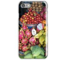 Bedugul fruit stand iPhone Case/Skin