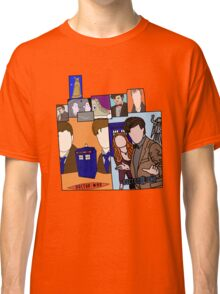 Doctor who collage  Classic T-Shirt