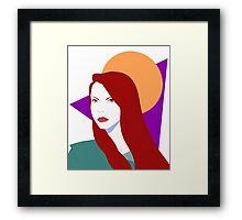 Maraschino Framed Print