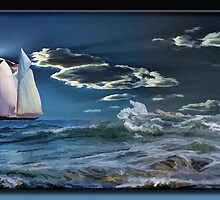 Sailing By by Richard  Gerhard