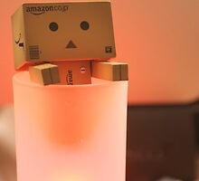 Danbo tries to have a hot bath by the-sandman