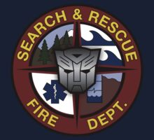 Ratchet Search And Rescue Large Logo by Christopher Bunye
