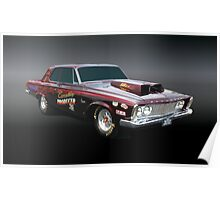 1963 Plymouth Sport Fury Poster