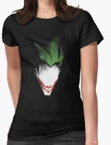 The Dark Joker Womens Fitted T-Shirt