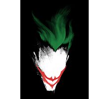The Dark Joker Photographic Print