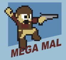 (MegaMan Firefly) Mega Mal Reynolds Shirt 8-bit Kids Clothes