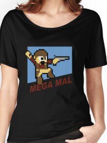 (MegaMan Firefly) Mega Mal Reynolds Shirt 8-bit Women's Relaxed Fit T-Shirt