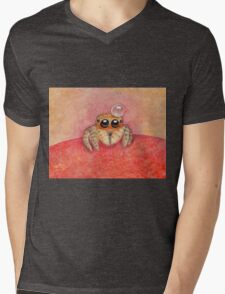 Spider Mens V-Neck T-Shirt