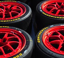 Red Race Wheels by joevoz