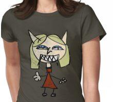 My Girlfriend, The Vampire Womens Fitted T-Shirt