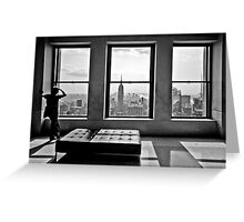 Top of the Rock Greeting Card