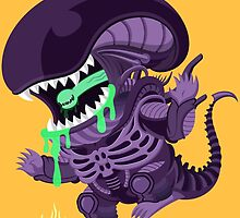 Xenomorph! by Megan Kelly