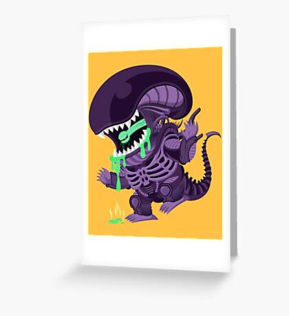 Xenomorph! Greeting Card