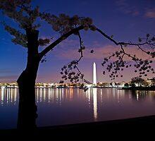 Washington DC Twilight  by Ken Howard
