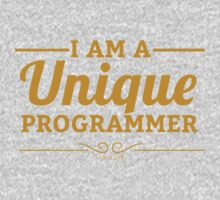 programmer : i am a unique programmer Kids Tee