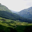 Light and Shadows, The Rest and be Thankful, Scotland by ElsT