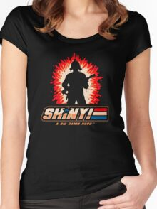 A Big Damn Hero Women's Fitted Scoop T-Shirt