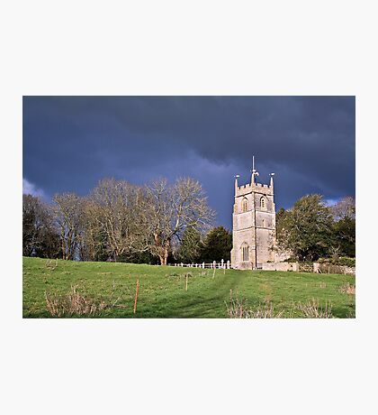 Newton Park Church.. Photographic Print