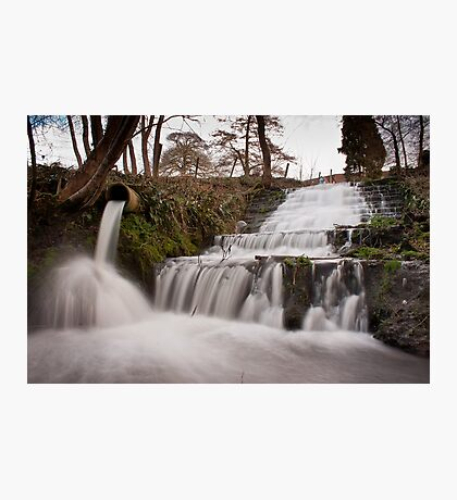 Newton Park Waterfall.. Photographic Print